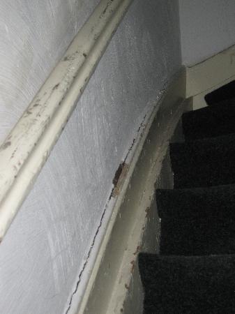 ماجيز جيست هاوس: Escalera