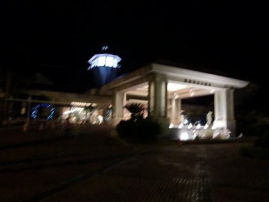 Hualien FarGlory Hotel: The Farglory hotel (sorry for the blurr)