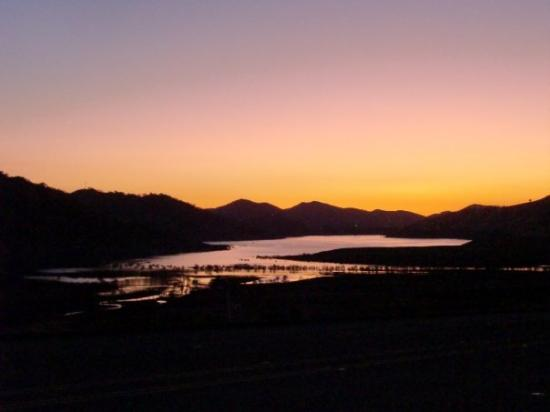 Three Rivers, CA: Lake Kaweah, just by the Kings Canyon entrance.