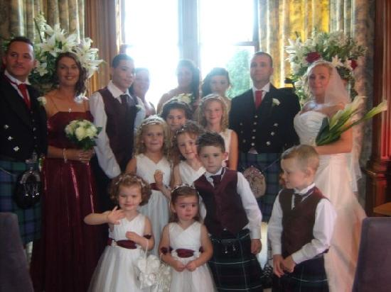 Moorpark House Hotel: Our wedding party
