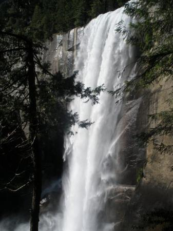 Coming down the Mountain. Vernal falls is such a beautiful waterfall you could listen to it for