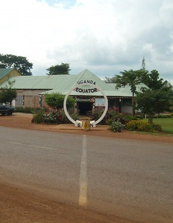 Kampala, Uganda: Equator  Dünyanin ortasi