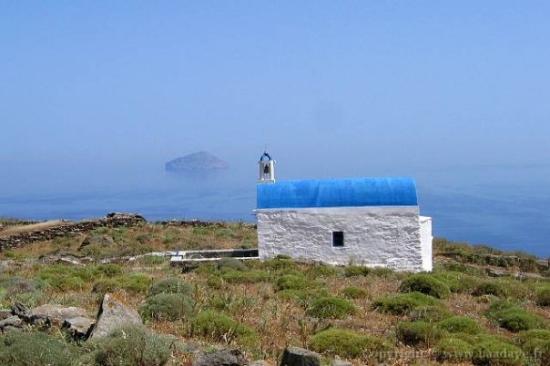 Grèce. Ile de Serifos.