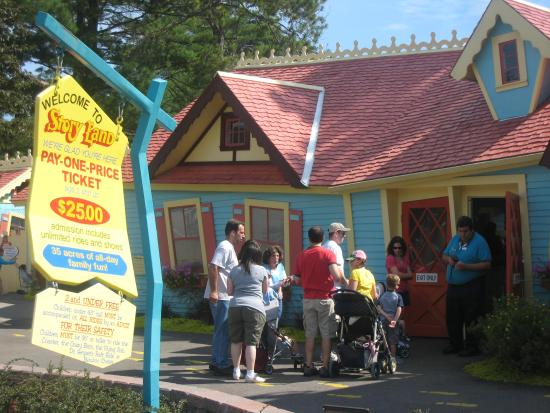 Story Land: Ticket Sales