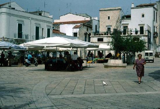 Farmer's Market in Conversano