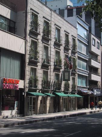 Hotel Suites Reforma 374 : 概観