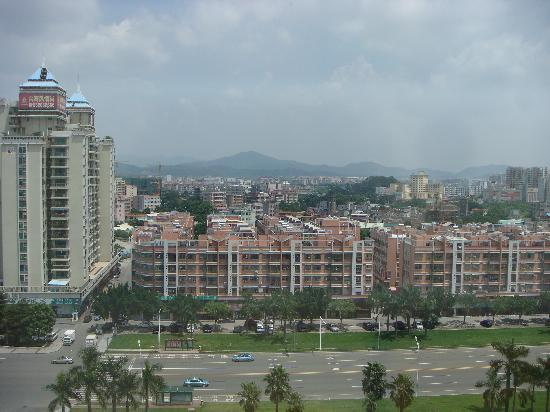 Chamen Hotel: View out over Qingxi Town
