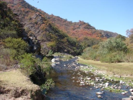 San Marcos Sierras, Argentina: El Río San Marcos