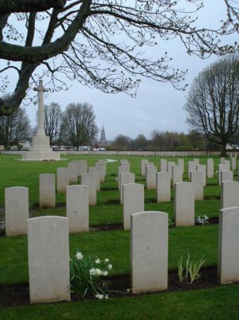 Bayeux War Cemetery: British Cemetery.  Bayeux.