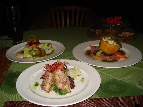 The Royal Pita Maha: アユンリバーレストランでのオーガニック料理