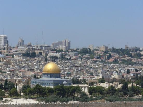 View of Jerusalem from outside the city walls, summer '07.