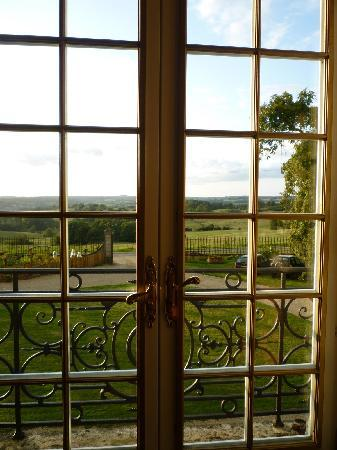 Chateau de Montaubois: View from the corridor upstairs