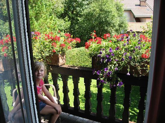 Gastehaus Neu: little balcony