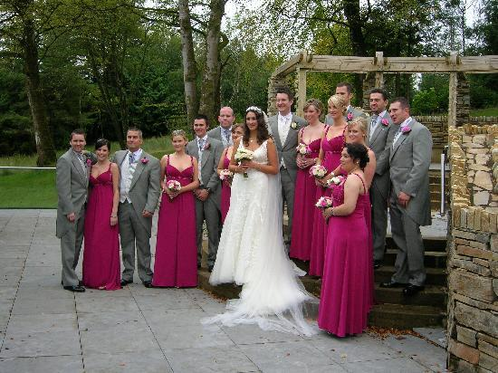 Lough Eske Castle, a Solis Hotel & Spa: Wedding party - area beside the ballroom