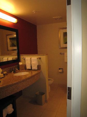 Courtyard Vicksburg: Spacious bathroom