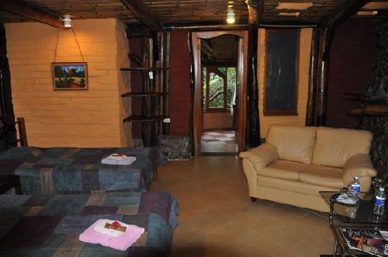Hosteria Finca Chamanapamba: Zimmer mit 2 Einzelbetten