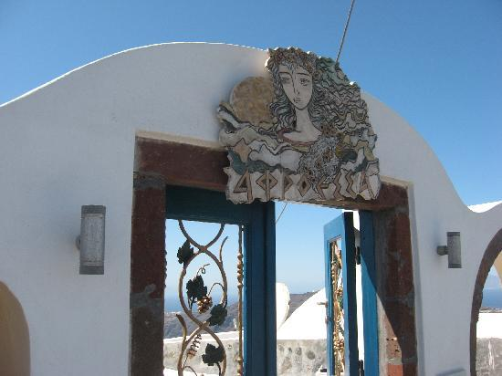 Afroessa Hotel: The gate to the Afroessa.