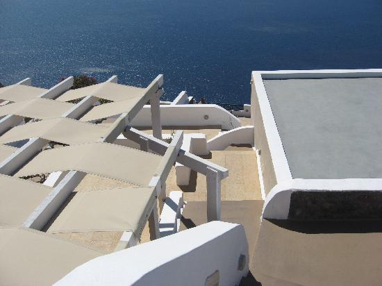 Afroessa Hotel: A view from the top of the Afroessa.