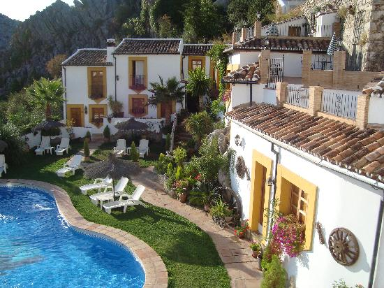 Montejaque, España: Veiw from Bedroom