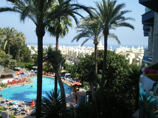 Hotel Palmasol: view from room 205