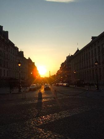 ปารีส, ฝรั่งเศส: Sunset in Paris