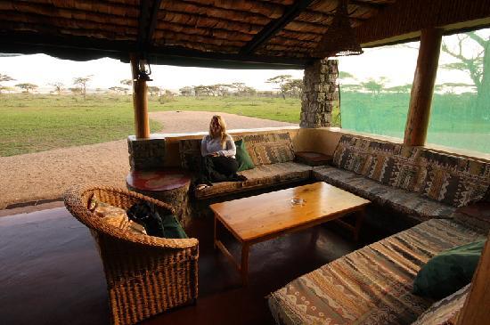 Ndutu Safari Lodge: The view from the lodge