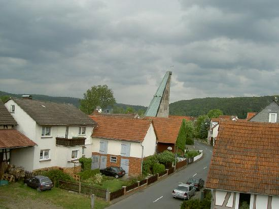 Lahntal, Alemania: View from our window