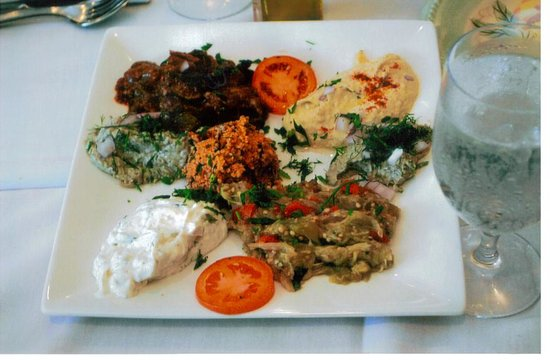 Mamaroneck, Нью-Йорк: Turkish Meze Appetizer