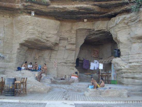 Kolimbia, Greece: Bar nella roccia...che figata!!