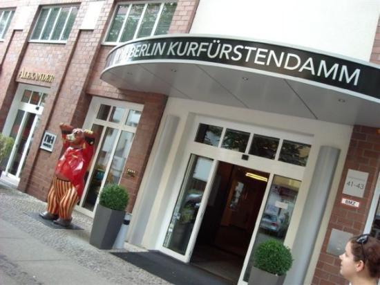 NH Berlin Kurfürstendamm : unser Hotel