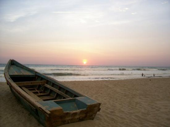 Sunset in Canoa
