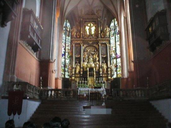Panorama Tours Original Sound of Music Tour: Salzburg, Austria; inside church of wedding scene