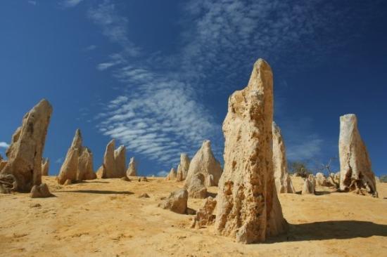 Nambung National Park: The Pinnacles Desert.