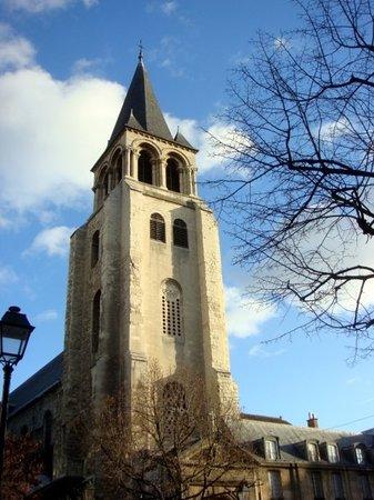 Quartier Saint-Germain-des-Prés : Paris