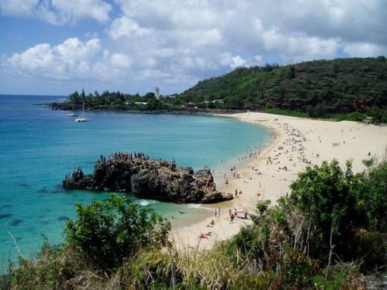 Kaneohe, Hawaï: waimaiea bay