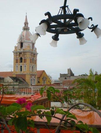 Delirio Hotel: desde la terraza