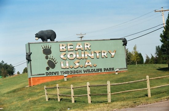 Rapid City, Dakota del Sur: Bear Country