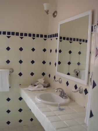 هوتل بوسادا سانتا في: baño