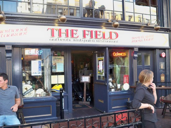 The Field Authentic Irish Pub and Restaurant: entrance