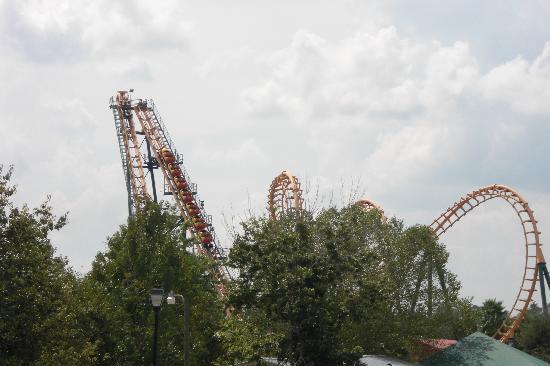 Valdosta, GA: Boomerang Coaster