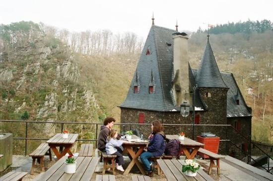 Moselkern, Germany: A snack at Berg Eltz, Germany