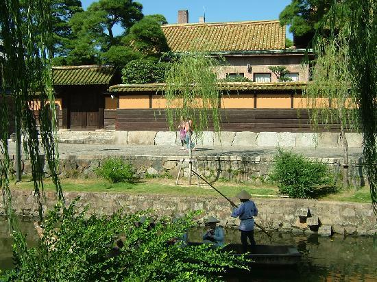 Kurashiki Bikan Historical Quarter: 立派なお屋敷もたくさんあります。