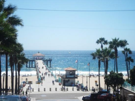 Manhattan Beach Pier: The beautiful Manhattan Beach and the Pier (Aug 2009)