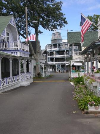 Edgartown, MA: Martha's Vineyard quiet street