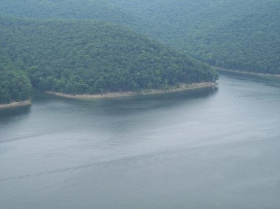 Warren, Pensylwania: Allegheny River, above the Kinzua Dam