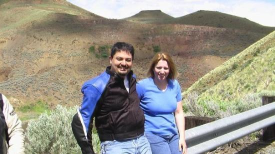 Hells Canyon Scenic Byway: Us on the Hells Canyon Rally weekend~ spring 2006