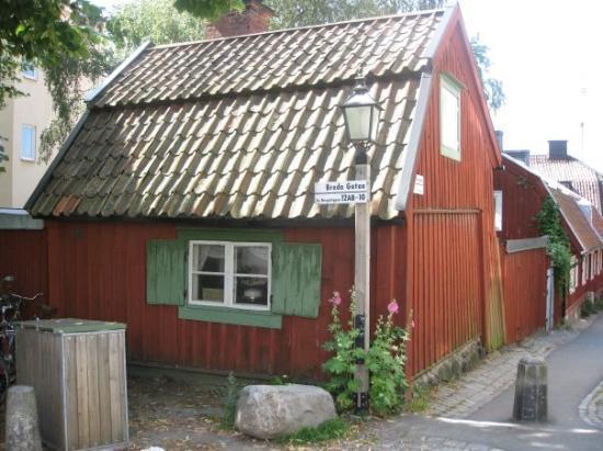 Djurgarden: Et hyggeligt lille træhus på Djurdgården