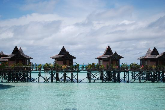 Pulau Mabul, Malesia: The bungalows