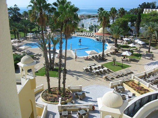 Hotel Palace Hammamet Marhaba: Swimming-pool