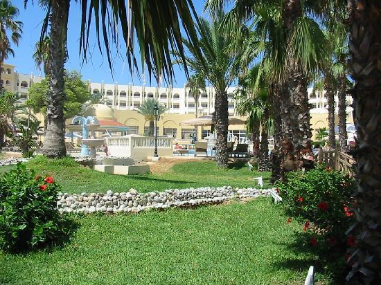 Hotel Palace Hammamet Marhaba: Garden